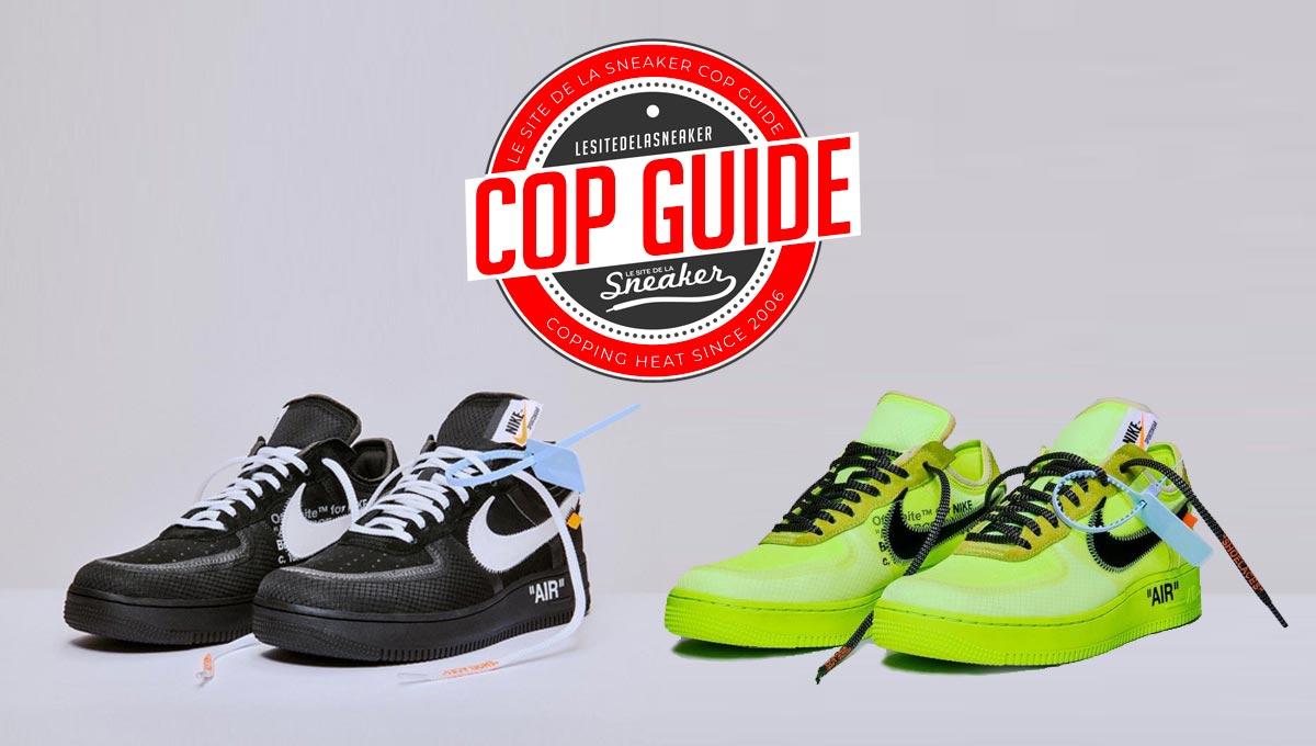 Comment cop les Off White x Nike Air Force 1 Low Volt