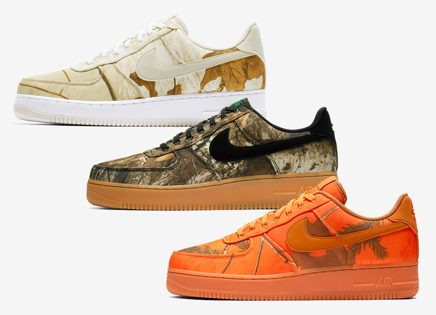 Nike Air Force 1 Low Realtree Camo Pack