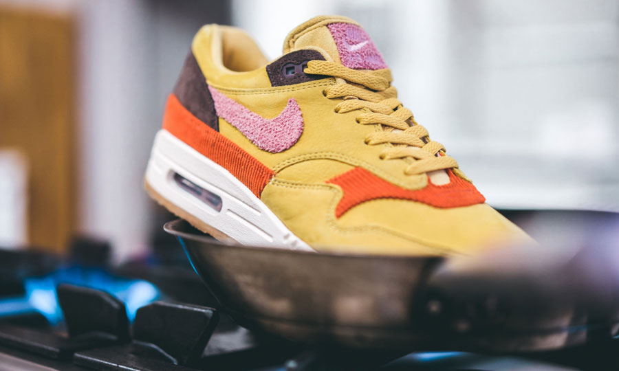 Nike Air Max 1 Premium Wheat OrRoseMarron CD7861 700