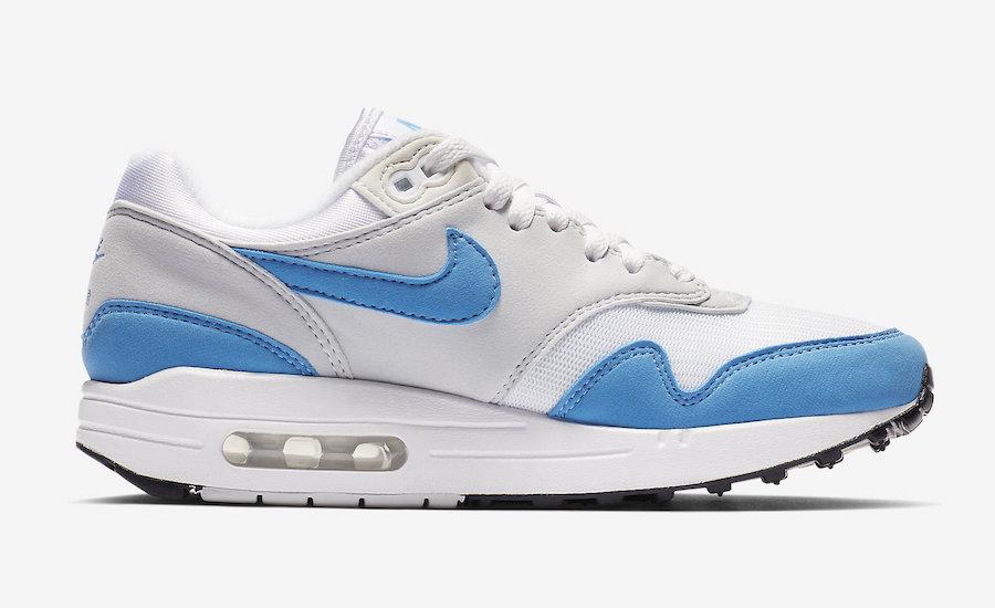 nike air max 1 light blue