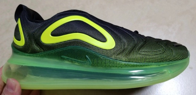 chaussure air max 720 fluo