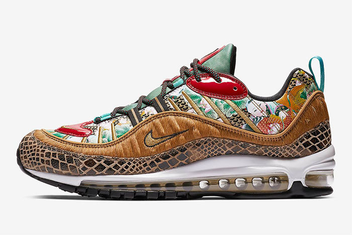 details for hot new products authentic Preview: Nike Air Max 98 Chinese New Year - Le Site de la ...