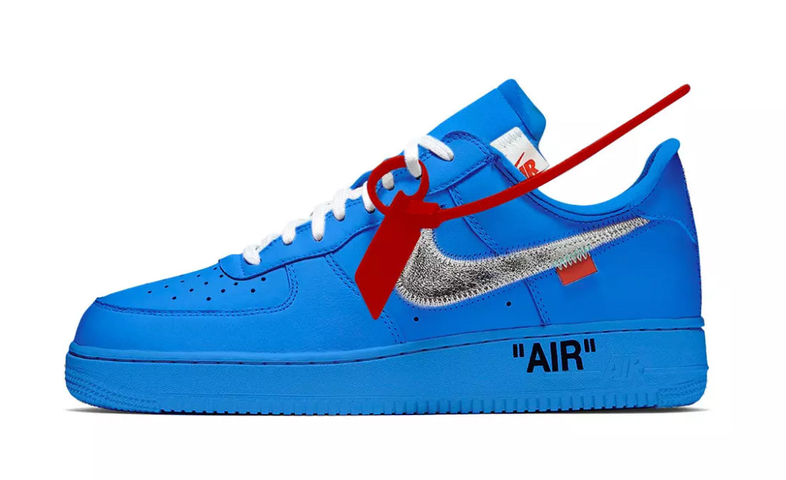Virgil Abloh présente sa collab OFF WHITE x Nike Air Force 1