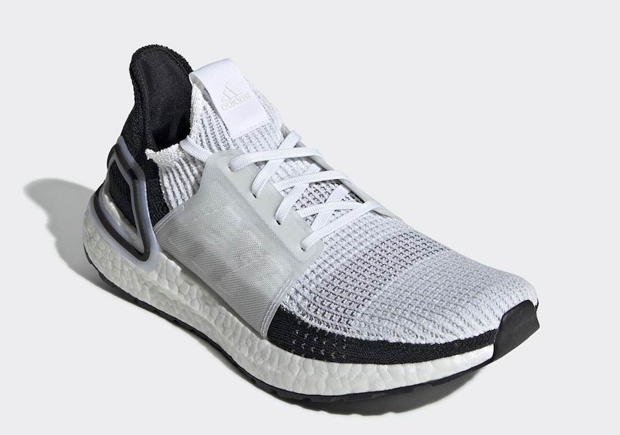 adidas UltraBoost 19 White Black