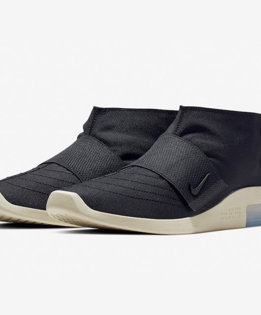 new concept afbba 92302 Nike Air Fear of God Moccasin Black