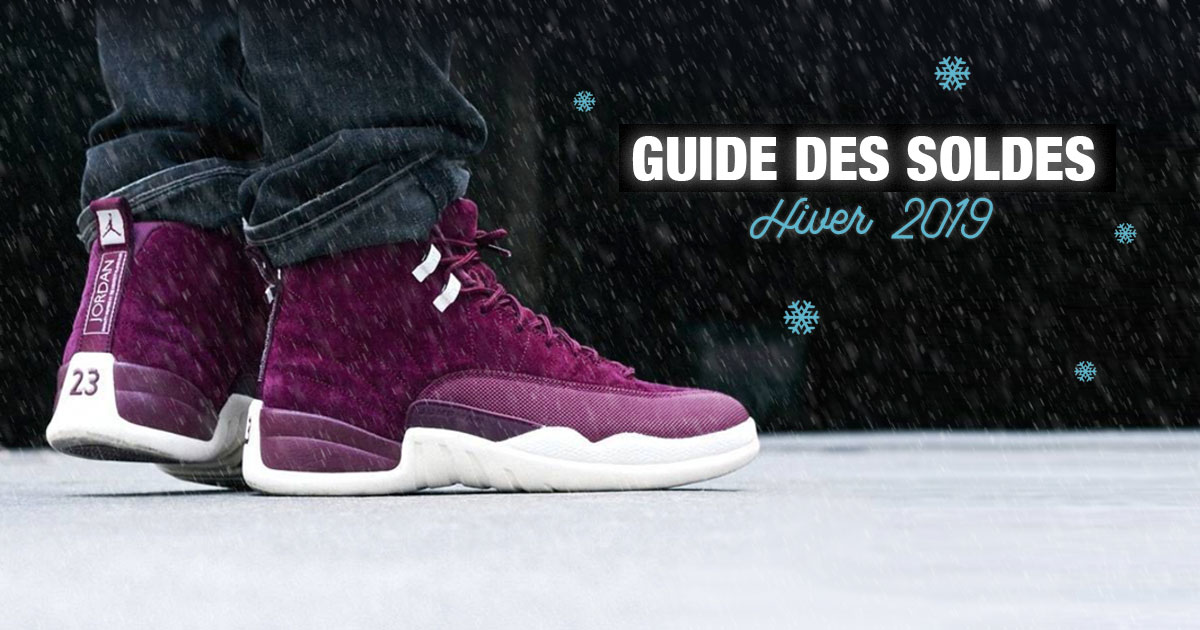 best service 99323 87938 Le guide des soldes sneakers Hiver 2019