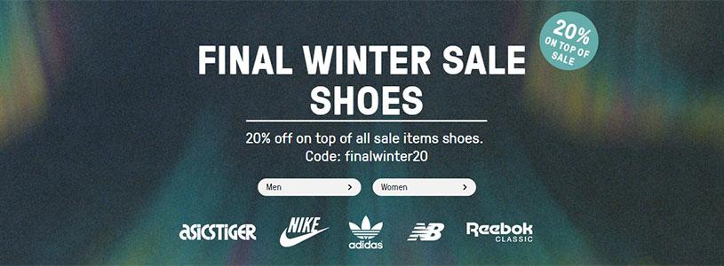 reputable site 58477 a848e 20% de réduction supplémentaire sur les sneakers en soldes avec le code  finalwinter20.