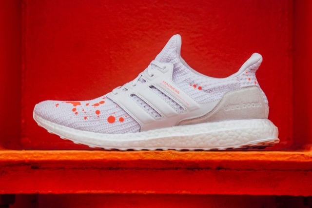 8e889552c2607 MADNESS x adidas UltraBoost 4.0 White Orange - Le Site de la Sneaker