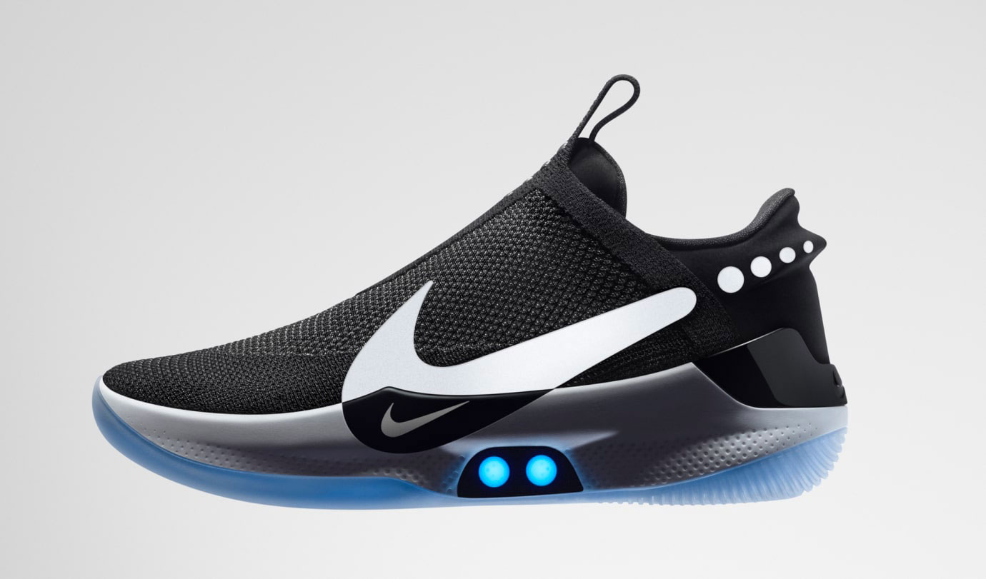Nike Adapt BB Black Photo Blue
