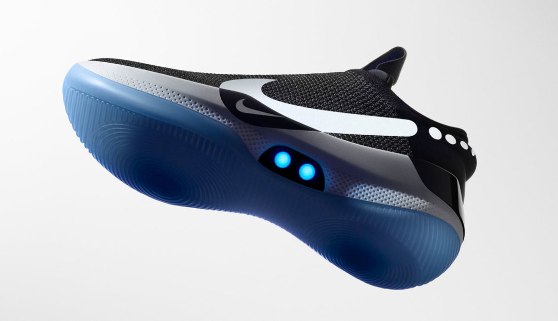 Nike Adapt BB Black Photo Blue