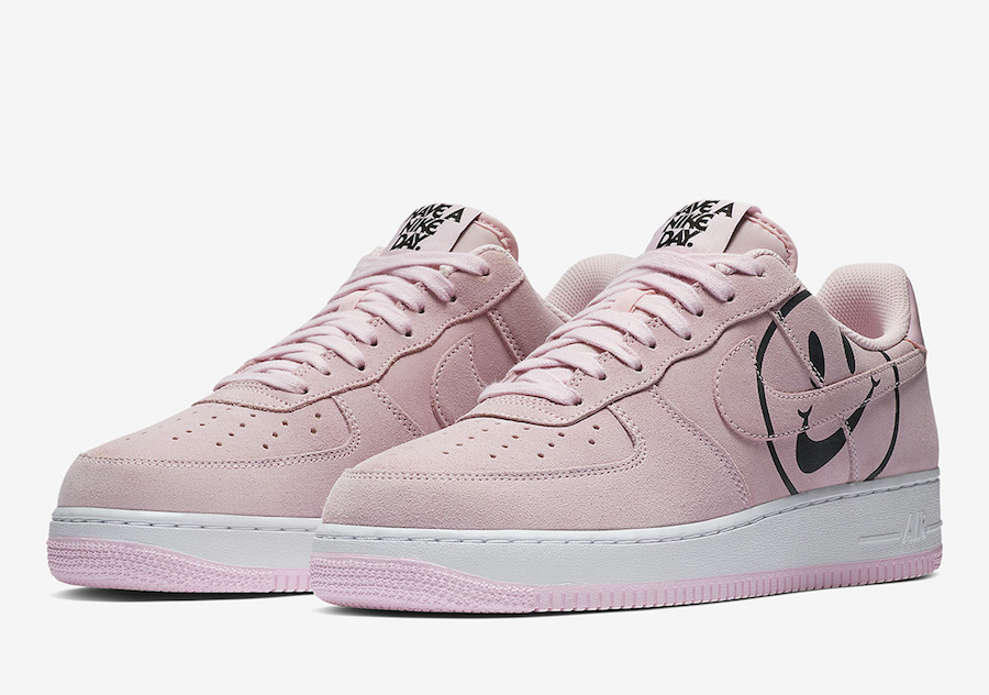 air force 1 rose pale blanche