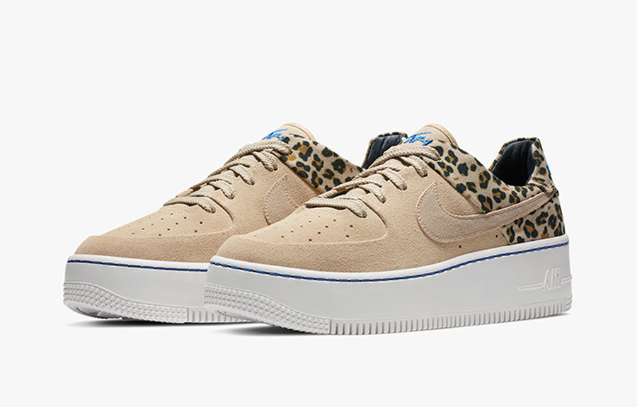 nike aire force one femme rose leopard
