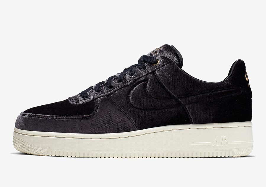 air force 1 grise velour