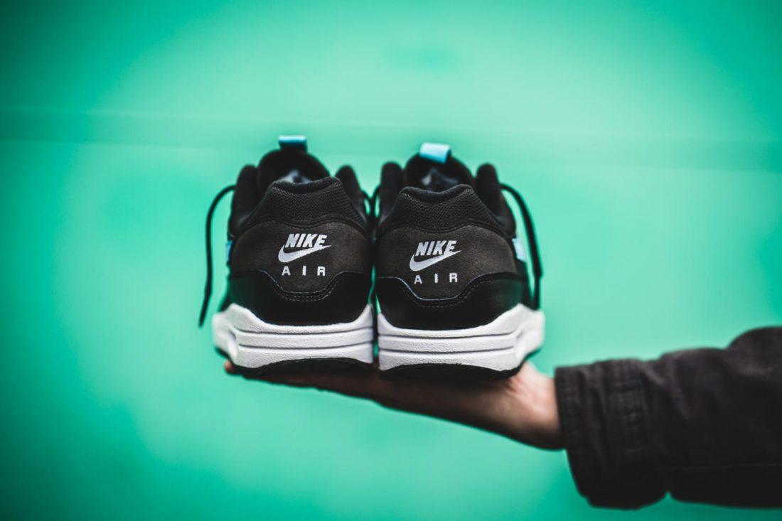 Nike Air Max 1 SE Black Blue Fury Le Site de la Sneaker