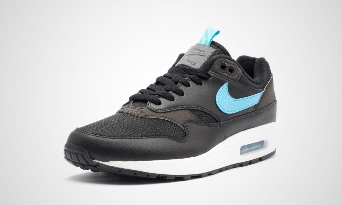 59c2b1cb89a Nike Air Max 1 SE Black Blue Fury - Le Site de la Sneaker