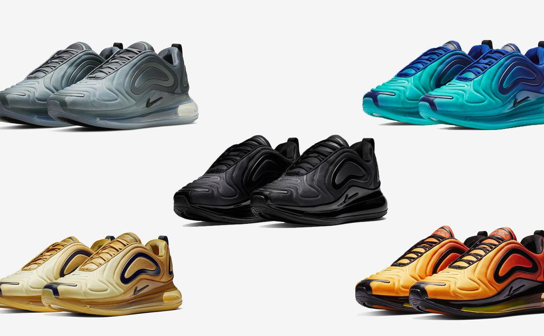 online retailer 364fe b66be Nike Air Max 720: les coloris à venir - Le Site de la Sneaker