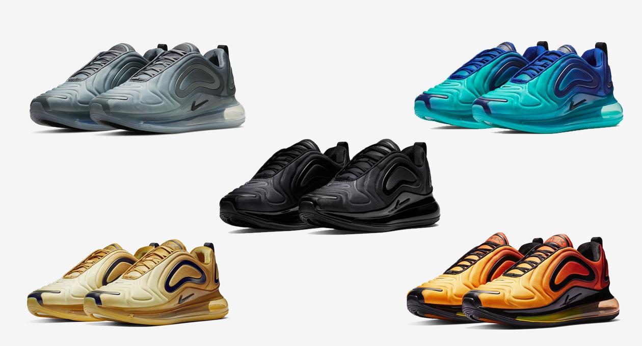 Nike Air Max 720: les coloris à venir Le Site de la Sneaker
