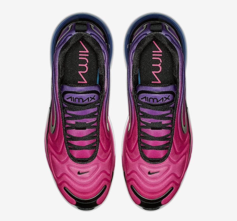 chaussure femme nike air max 720 rose