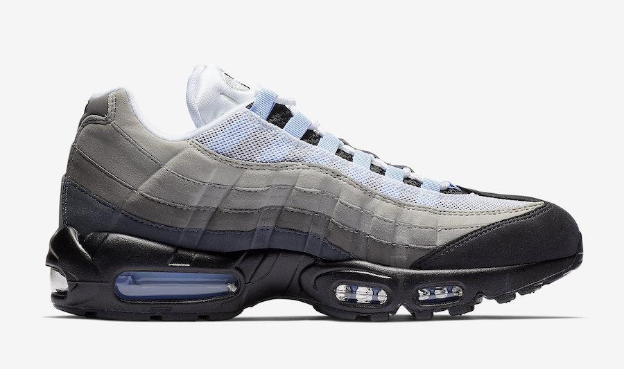 Nike air max 95 black gold aluminium