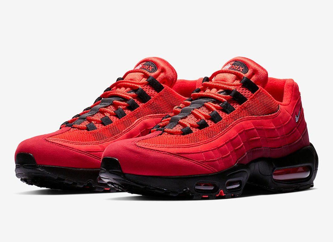 Nike Air Max 95 OG Sneakers Rouge AT2865 600