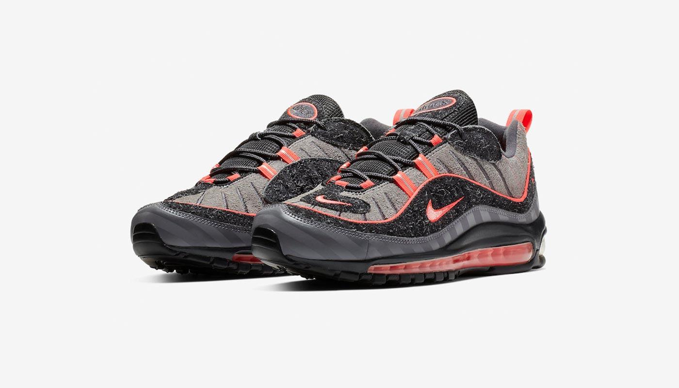Nike Air Max 98 I 95 Lava Glow Le Site de la Sneaker