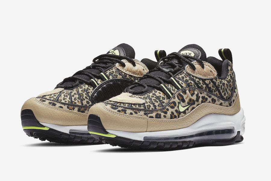 Nike Air Max 98 Leopard Desert Ore