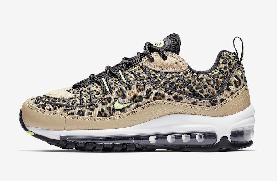 air max leopard femme