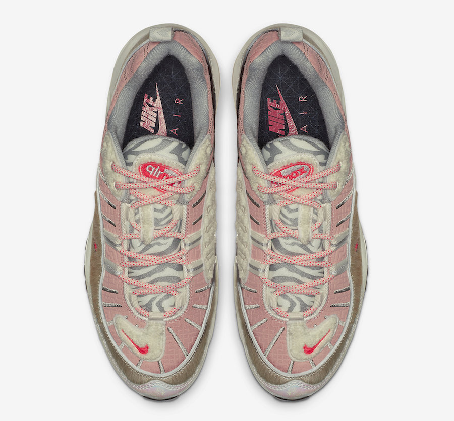 """Nike dévoile la WMNS Air Max 98 """"Chinese New Year"""" Le Site"""