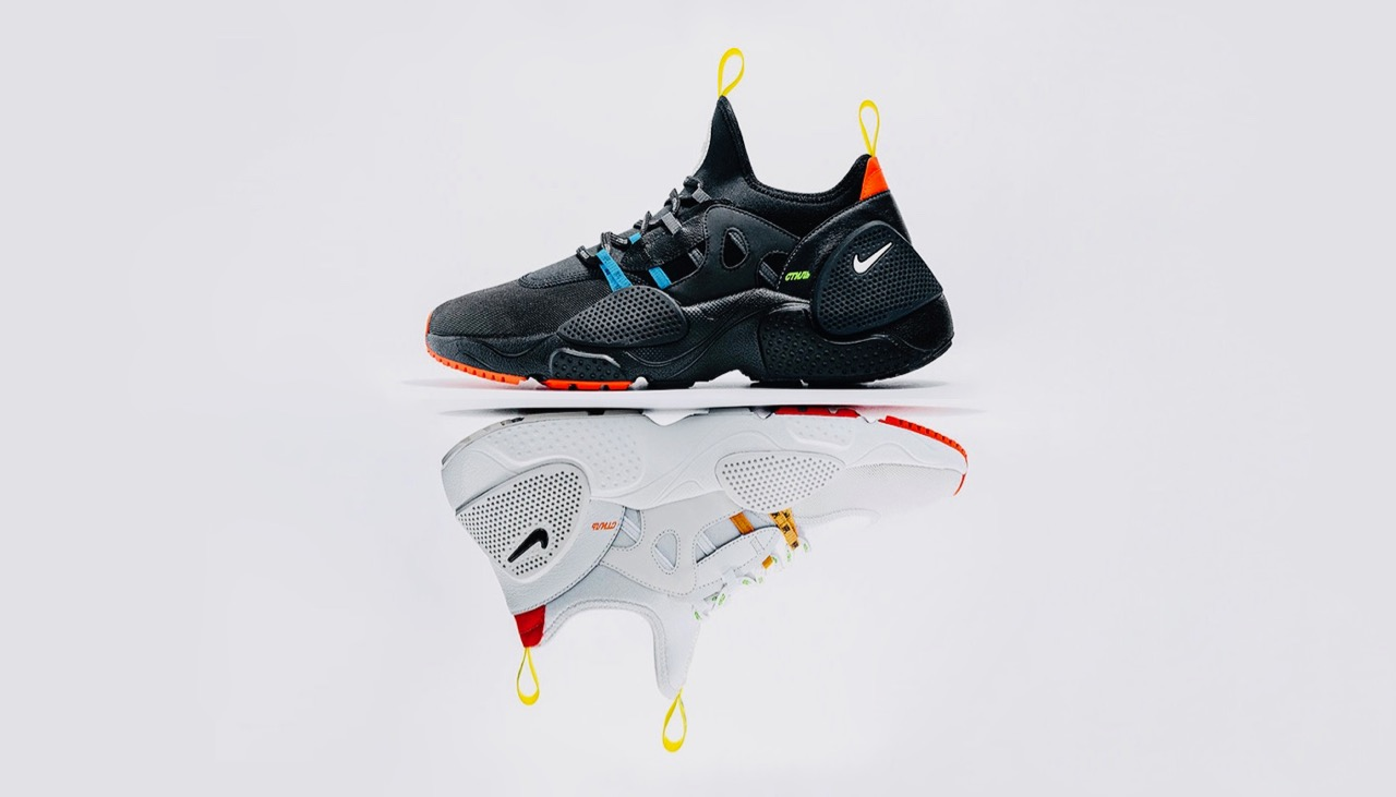 Heron Preston x Nike Huarache E.D.G.E. Pack