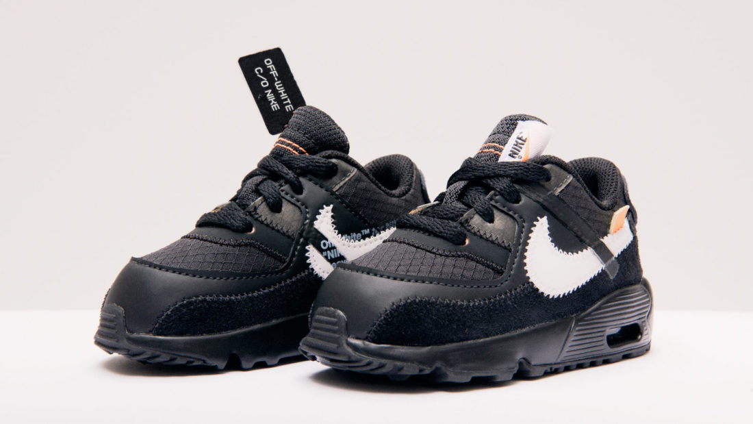 classic fit f1ad8 973cc Off-White x Nike Air Max 90 Black Cone