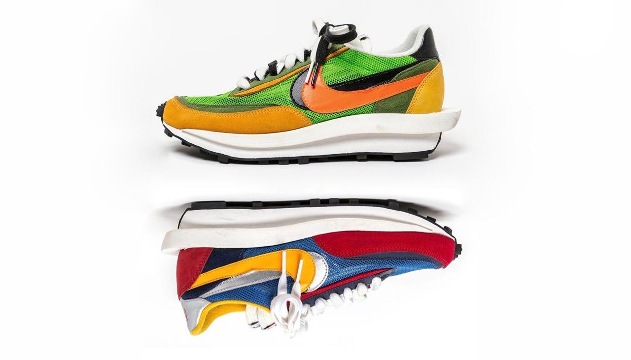 new photos various colors sleek Sacai x Nike LDV Waffle Daybreak Pack
