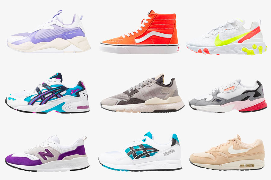 asics sneakers femme zalando