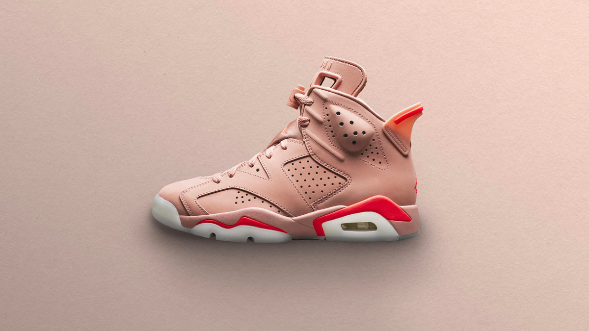sélection premium 67f3e e50de Aleali May x Air Jordan 6 Millennial Pink