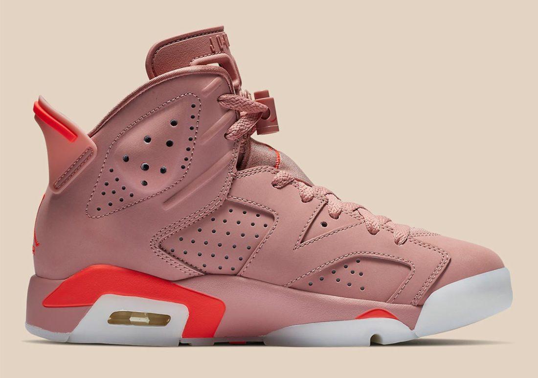 Aleali May x Air Jordan 6 Millennial Pink
