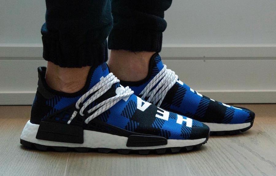 adidas nmd bleu