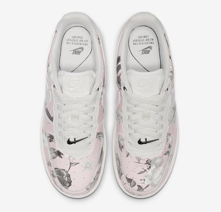 Low Site Force De Nike La Pink Le 1 Floral Air Sneaker OkuZTPilXw