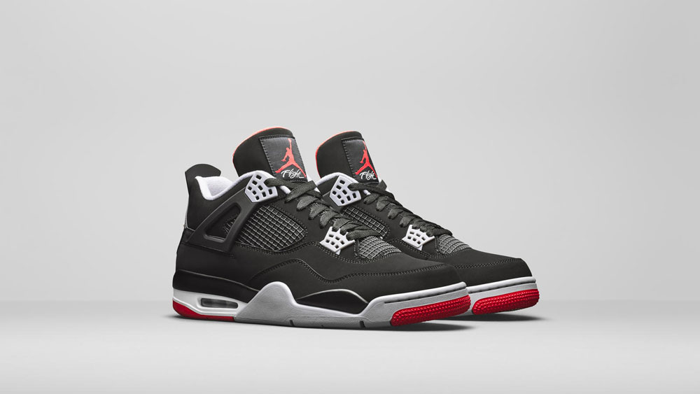 best sneakers 03c2e 59764 Air Jordan 4 Bred