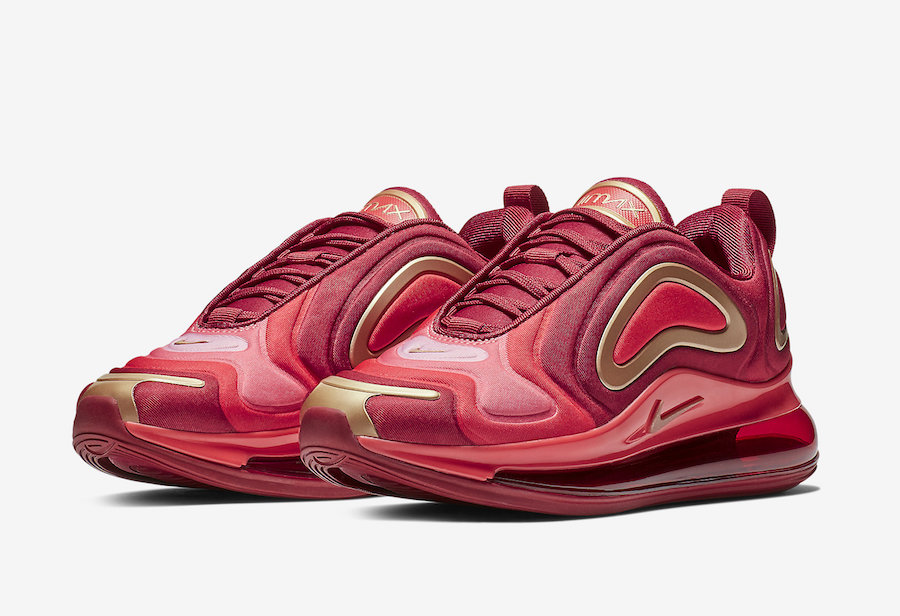 Nike Air Max 720 Team Crimson