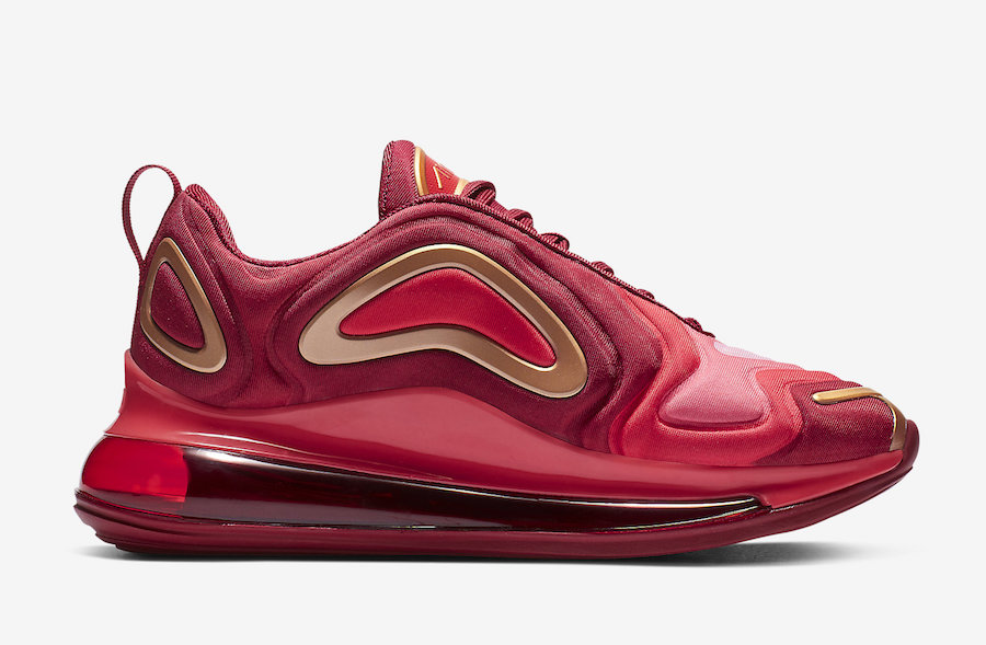 best price classic shoes available Nike Air Max 720 Team Crimson