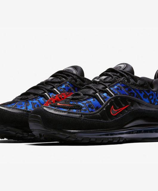 pretty nice 06cec a17f3 Nike Air Max 98 Premium Black Leopard