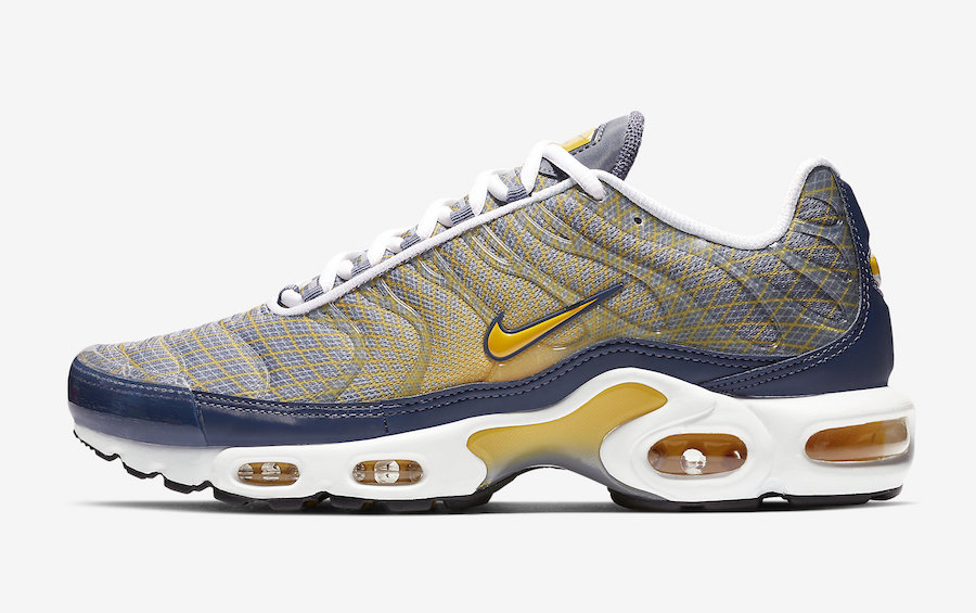 Nike Air Max Plus 'The Grid' Spun Yellow