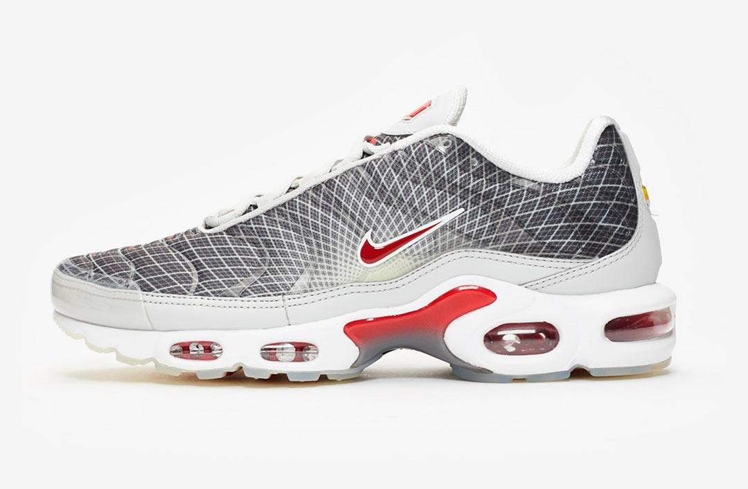 Nike Air Max Plus 'The Grid' Grey Red
