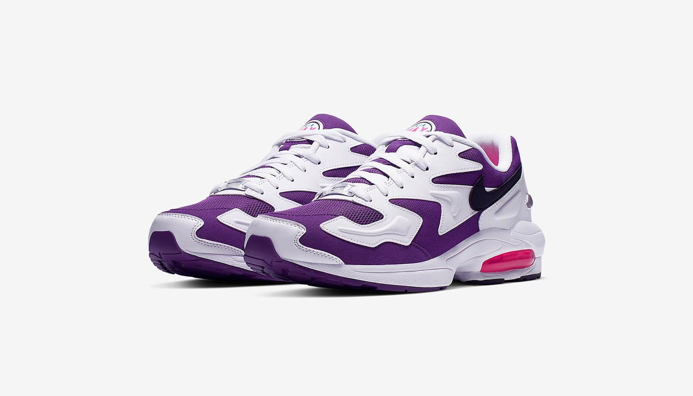 la meilleure attitude 6bc7f 39d50 La Nike Air Max2 Light White Purple Pink de retour - Le Site ...
