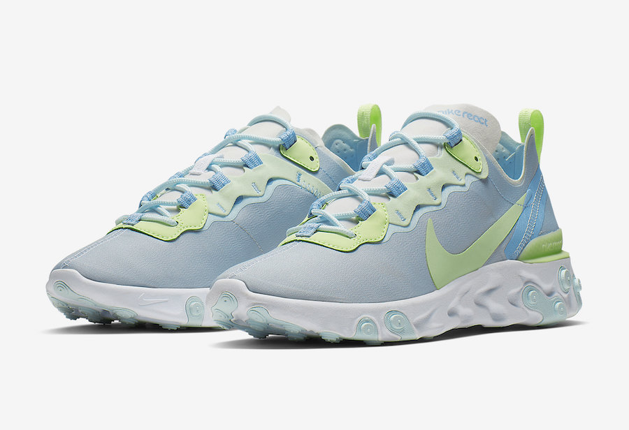 Preview: Nike React Element 55 Frosted Spruce Le Site de