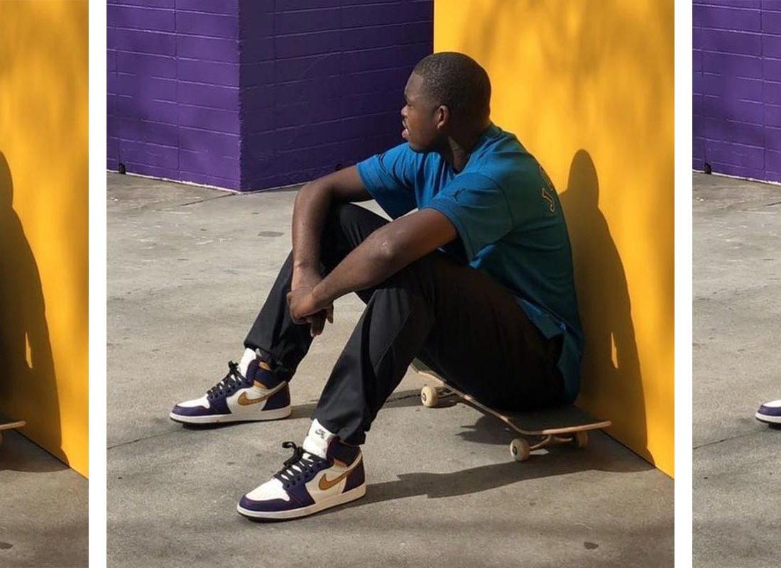 ceny detaliczne największa zniżka sekcja specjalna Preview: Nike SB x Air Jordan 1 Lakers Chicago - Le Site de ...