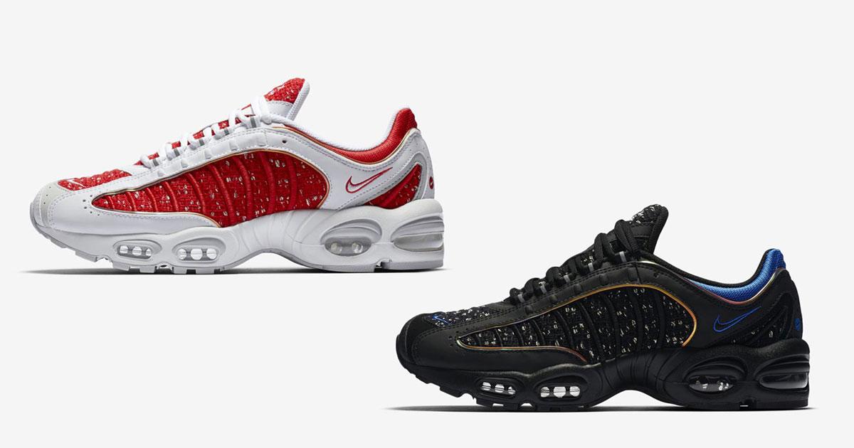 ab9b7fe894bc Les deux Supreme x Nike Air Max Tailwind IV se dévoilent en images - Le  Site de la Sneaker