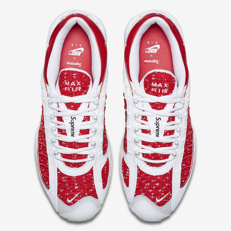 fashion style best loved new york Les deux Supreme x Nike Air Max Tailwind IV se dévoilent en ...