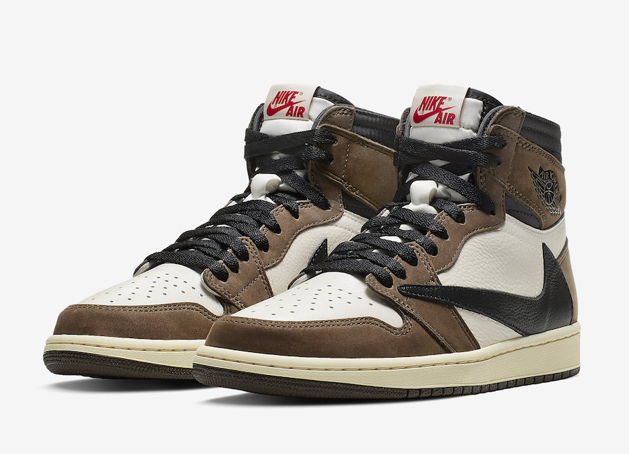 on sale 2b469 51438 Travis Scott x Air Jordan 1 'Cactus Jack'