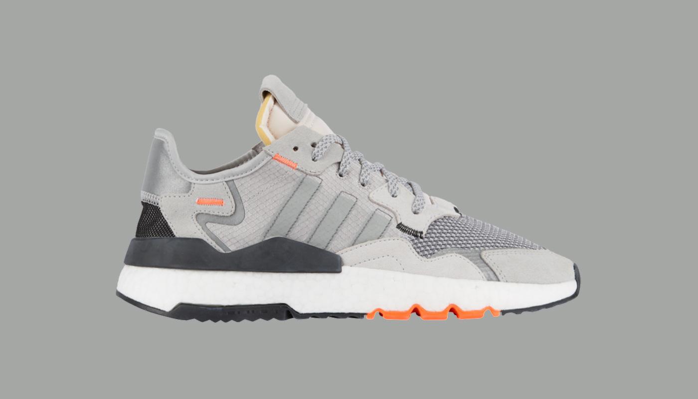 adidas Nite Jogger Grey Orange