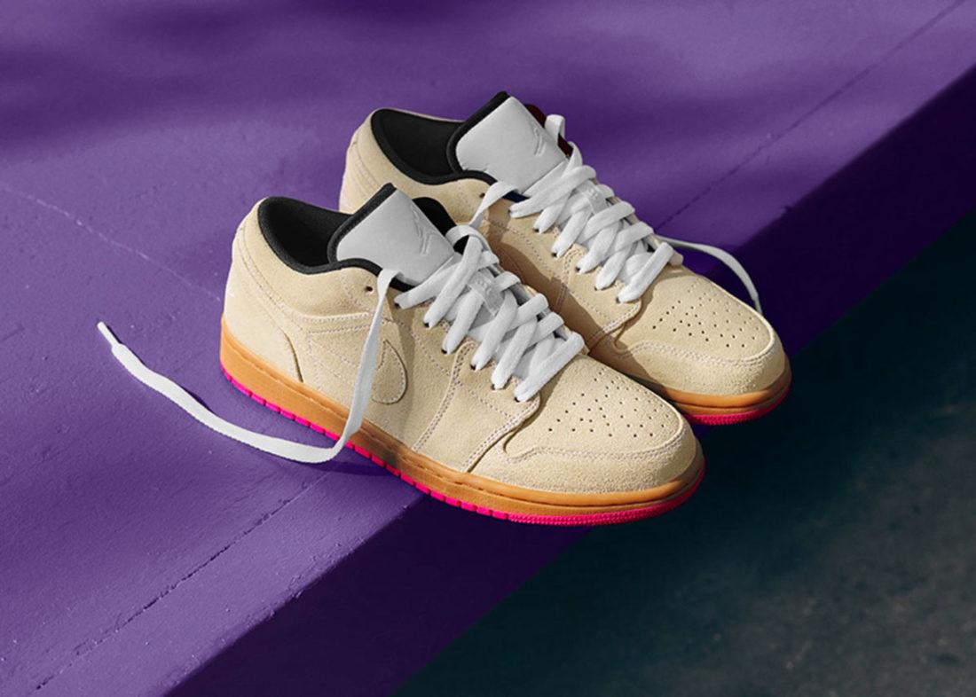 52d948bba84 Air Jordan 1 Low Gum Hyper Pink - Le Site de la Sneaker